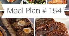 ΤΟ ΜΕΝΟΥ ΤΗΣ ΕΒΔΟΜΑΔΑΣ / WEEKLY MEAL PLAN # 154 by Ioanna Limberopoulou Meals For The Week, Meal Planning, Easy Meals, Ethnic Recipes, Food, Eten, Meal Prep, Easy Dinners, Meals