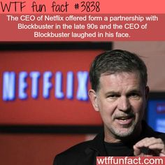 Netflixs Reed Hastings believes AT&T Time Warner merger could be good for consumers The More You Know, Did You Know, Good To Know, Wtf Fun Facts, Funny Facts, Random Facts, Crazy Facts, Epic Facts, Random Things