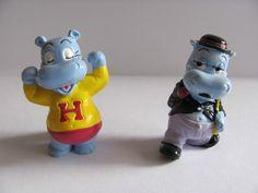 "Ü-Ei-Serie ""Happy Hippo Hollywood Stars 1997"", Komplett + Beipackzettel, Top in…"