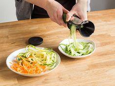 Spiralschneider Test: Wer macht die besten Gemüsenudeln?