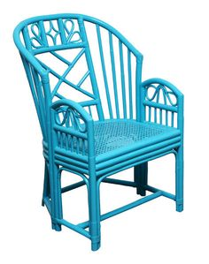 Wicker AND Blue