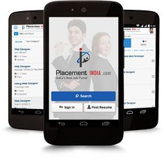 Download #PlacementIndiaApp - Job Portal #AndroidApps for Job Seekers! Job Searching Simplified. #MobileApp