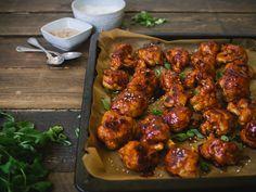 Maukkaat kukkakaaliwingsit – Ida's Cozy Corner Healthy Cooking, Tandoori Chicken, Veggies, Snacks, Cozy Corner, Ethnic Recipes, Food, Dinners, Drink