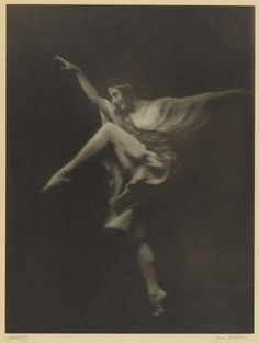 """Anna Pavlowa / about 1915 / Arnold Genthe / The J. Paul Getty Museum / """"The…"""