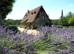 Cottage in the Dordogne region of France.