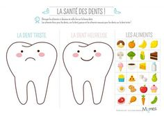 When you are teaching kids about all the important things in life one of the important things to teach them is good dental care. Free Alphabet Printables, Dental Kids, Health Activities, Lessons For Kids, Dental Health, Dental Care, Kids Education, Pre School, Preschool Activities