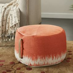 Kelly Clarkson Home Acklen Tufted Rectangle Cocktail Ottoman Fabric Ottoman, Pouf Ottoman, Oversized Ottoman, Round Storage Ottoman, Comfortable Accent Chairs, Professional Upholstery Cleaning, Rose Shop, Kids Seating, Cocktail Ottoman