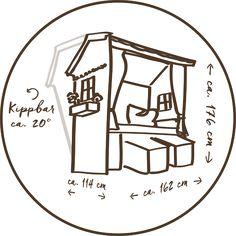 Strandkorb skizze  Strandkorb, Laube, Kiefernholz Schema/Skizzen | DIY | Pinterest ...