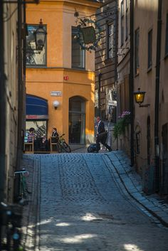Old Town Stockholm by Anders Mohlin, via Flickr