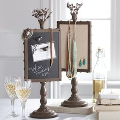 Standing Display Frame  would be great for display table..