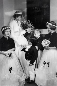 Countess Helene of Austria marries Archduke Ferdinand in 1956