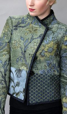 Mary Lynn O'Shea: Designer | Weaver | Essex Jacket