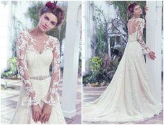 Glamour e luxo nos melhores modelos de Maggie Sottero Outono 2016. Fique atenta! Image: 43