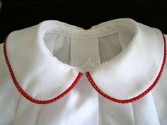 Just in case: How to attach a Peter Pan Collar, tutorial link. Sewing Hacks, Sewing Tutorials, Sewing Crafts, Sewing Patterns, Sewing Tips, Skirt Patterns, Dress Tutorials, Coat Patterns, Blouse Patterns