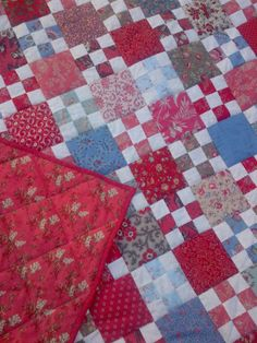 Cape Pincushion: French Nine-patch Quilt