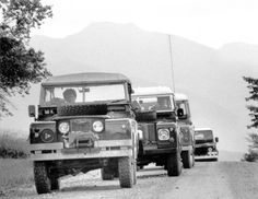 Convoy - from old at front to new at the rear!