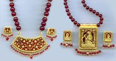 Thewa Jewellery,Designer Thewa Pendant Set Exporters Rajasthan