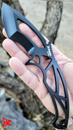 Knives And Tools, Knives And Swords, Knife Aesthetic, Unique Knives, Self Defense Weapons, D2 Steel, Neck Knife, Tactical Knives, Custom Knives