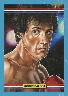 "Cuyler Smith ""55 - Rocky Balboa"""