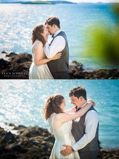 Wedding Photo Ideas | Beach Wedding Photos | Romantic Wedding Photography | Wedding Inspiration | Cute Bride and Groom Poses | Lucy Schultz Photography