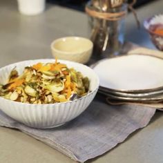 Chef Candice Kumai shows you how to prepare this delicious side dish in our new video series The Chic Kitchen. - Shape.com