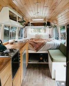 Van Conversion Interior, Camper Van Conversion Diy, Van Interior, Bus Living, Tiny House Living, Small Living, Tyni House, Auto Camping, Camper Life