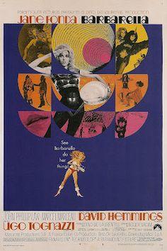 It's Barbarella's 45th anniversary! Barbarella, psychadella--sing it with me! www.Barbarellesque.com