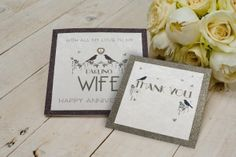 New 'Bonheur' range - 42 standard size & 6 smaller sized cards. Stunning glittered designs and finished with genuine crystals, In stores now. Are You Happy, Mall, Presents, Place Card Holders, Range, Crystals, Cards, Design, Bonheur