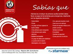 Viaja preparado para cualquier emergencia y lleva siempre un set de herramientas en tu #vehículo. www.sancar.cl  #Sancar #Starmaxx #Neumáticos #Prevención #Talca #QuintaNormal #Santiago