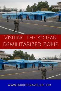 Visiting the Korean Demilitarized Zone