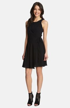 1.STATE Wrap Front Dress