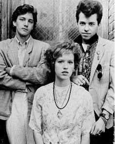 fabuloushollywoodmemories.com   - Molly Ringwald, Andrew McCarthy, and Jon Cryer