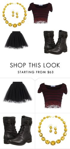 """Carly Shay"" by tomboy45 on Polyvore featuring Blumarine and UGG Australia"