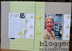 my life - perfectly imperfect: scrapbooking