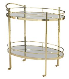 Bernhardt Furniture Jet Set Serving Bar Cart