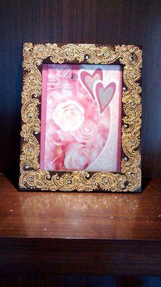 Henna photo frame