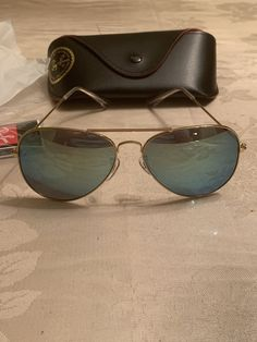 Ray-Ban RB3025 Frame Aviator Flash Lense Mirror Green Sunglasses Unisex  58mm  fashion   32f10808cdc7