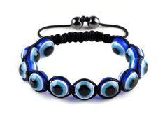 New Macrame Evil Eye Beads Hemitate Ball Friendship Charm Bracelet imixlot. $5.99. MACRAME HANDMADE BRACELET WITH EVIL EYE PLASTIC BEADS,BEST GIFT FOR YOURSELF OR YOUR FRIENDS