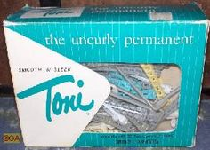 Toni Perm always turned my baby fine hair frizzy rather than curly, but my mom persisted.