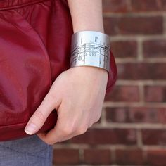 NYC Metro Cuff black.... so the next time you are in NY you have a map of the subway right on you...... I like this