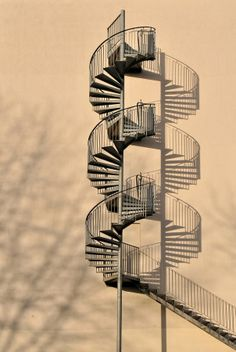 Where does it lead? Beautiful Architecture, Architecture Details, Amazing Photography, Street Photography, Foto Picture, Spiral Staircase, Background Pictures, Stairways, Bauhaus