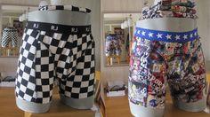nu met een heren display, nieuwe boxer's voor kleinzoon;s