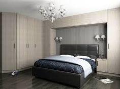 Resultado de imagem para wardrobe over bed