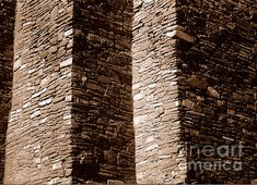 Title: Quarai - Wall Artist: Steven Ralser Medium: Photograph - Photography