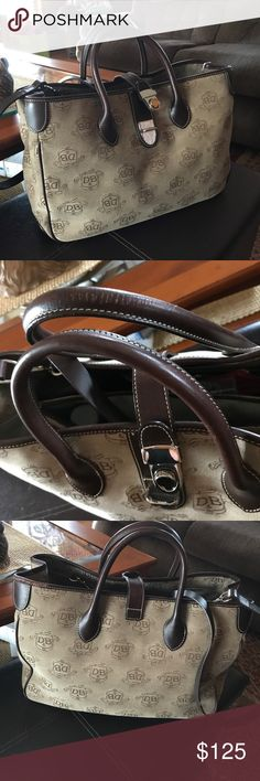 Authentic Dooney and Bourke Excellent condition where on one handle only smoke free Lotsa room large size Dooney and Bourke Bags Totes