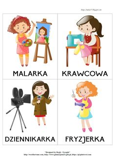 Diy For Kids, Crafts For Kids, Learn Polish, Polish Words, Self Defense Classes, Polish Language, Poland Travel, Montessori Activities, Sensory Bins