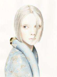 """""""Angels"""". Heather Marks by Sølve Sundsbø for POP S/S 2006"""