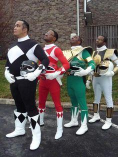 "Power Rangers? Yes, ma'am! [Black Ranger Cosplayer: Eric ""The Smoke"" Moran]"