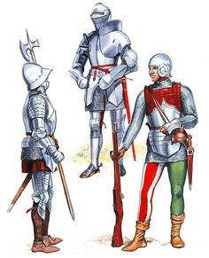 Afbeeldingsresultaat voor french gunner 15th century