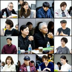 """""""Happy Home"""" first script reading @ HanCinema :: The Korean Movie and Drama Database"""